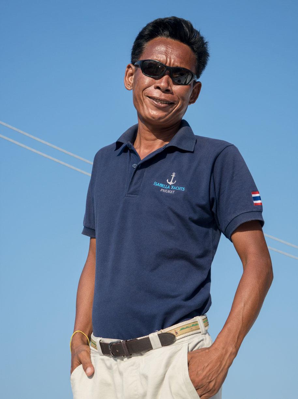 boat captain Adun