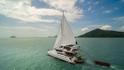 Blue Lagoon Catamaran 70ft on rent Phuket_2