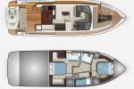 Isabella Yachts - Galeon 460 FLY layout