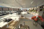 Hire Leopard 51ft Yacht - upper deck lounge 2