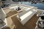 Hire Leopard 51ft Yacht - upper deck lounge 3