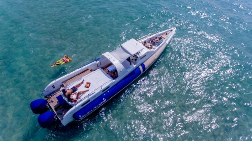 day trip Phuket on Interceptor 50 yacht