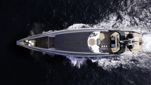 Isabella Yachts: Rodriguez 135ft - drone view1