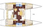 Isabella Yachts : Lagoon 380 Layout