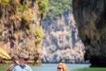 Princess V45 - phi phi island private boat tour